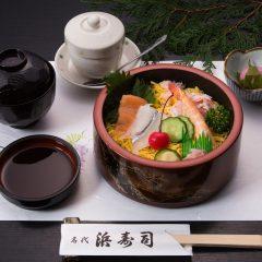 ちらし寿司定食 1,000円(税込)