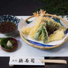 天婦羅盛合わせ 1人前 1,500円(税抜)