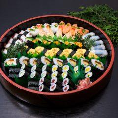 寿司盛り合わせ[並5人前] 8,000円(税抜)